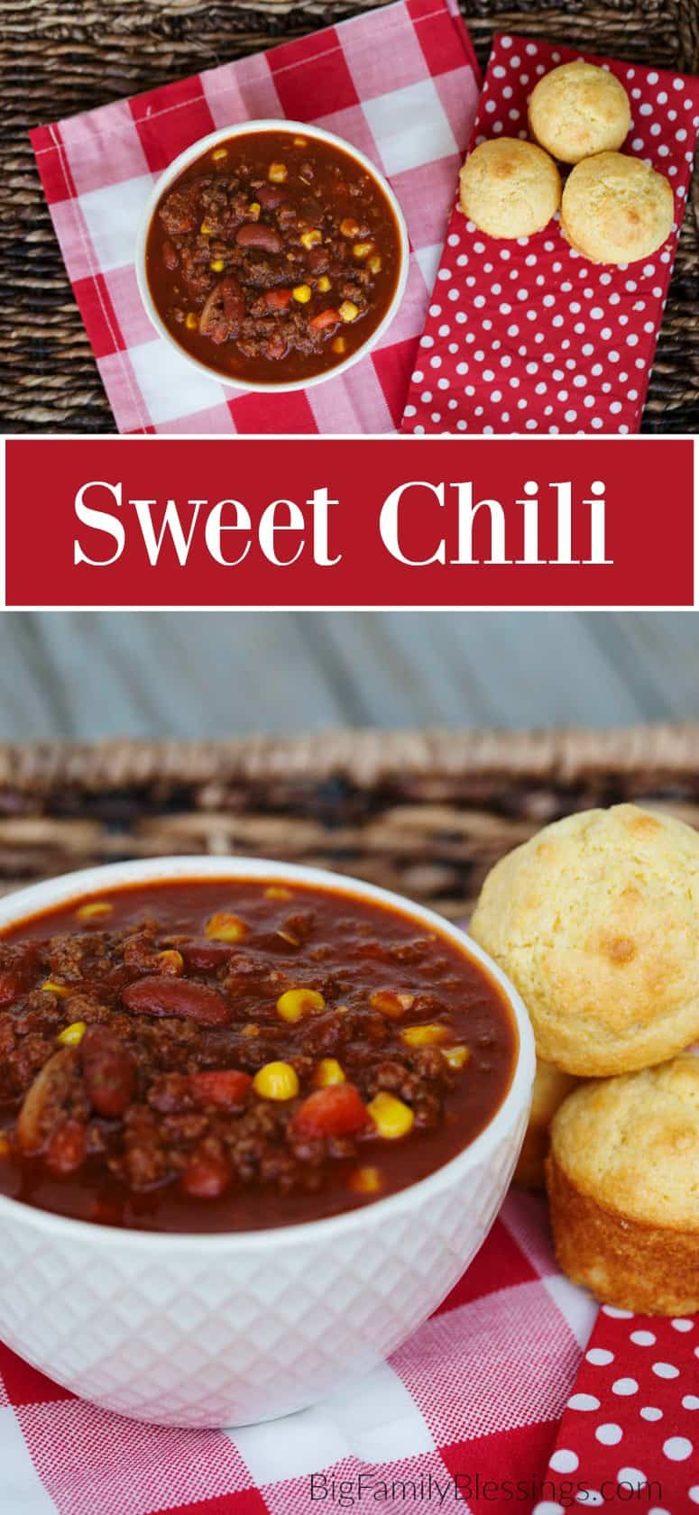 Sweet Chili - comfort food with a sweet spicy kick.