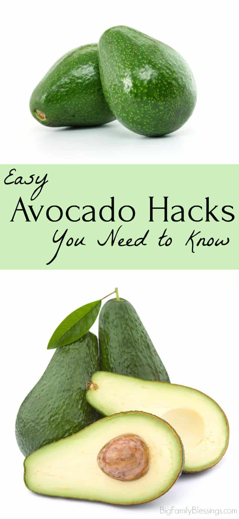 Easy avocado hacks you need to know. Tips and tricks for choosing, using, and storing avocados.