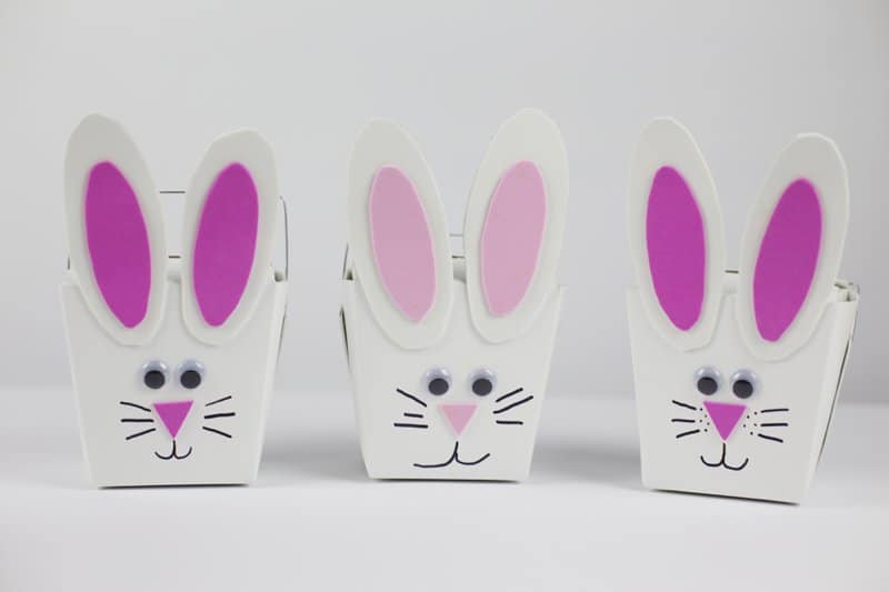 Easter Bunny Take Out Box Party Favors