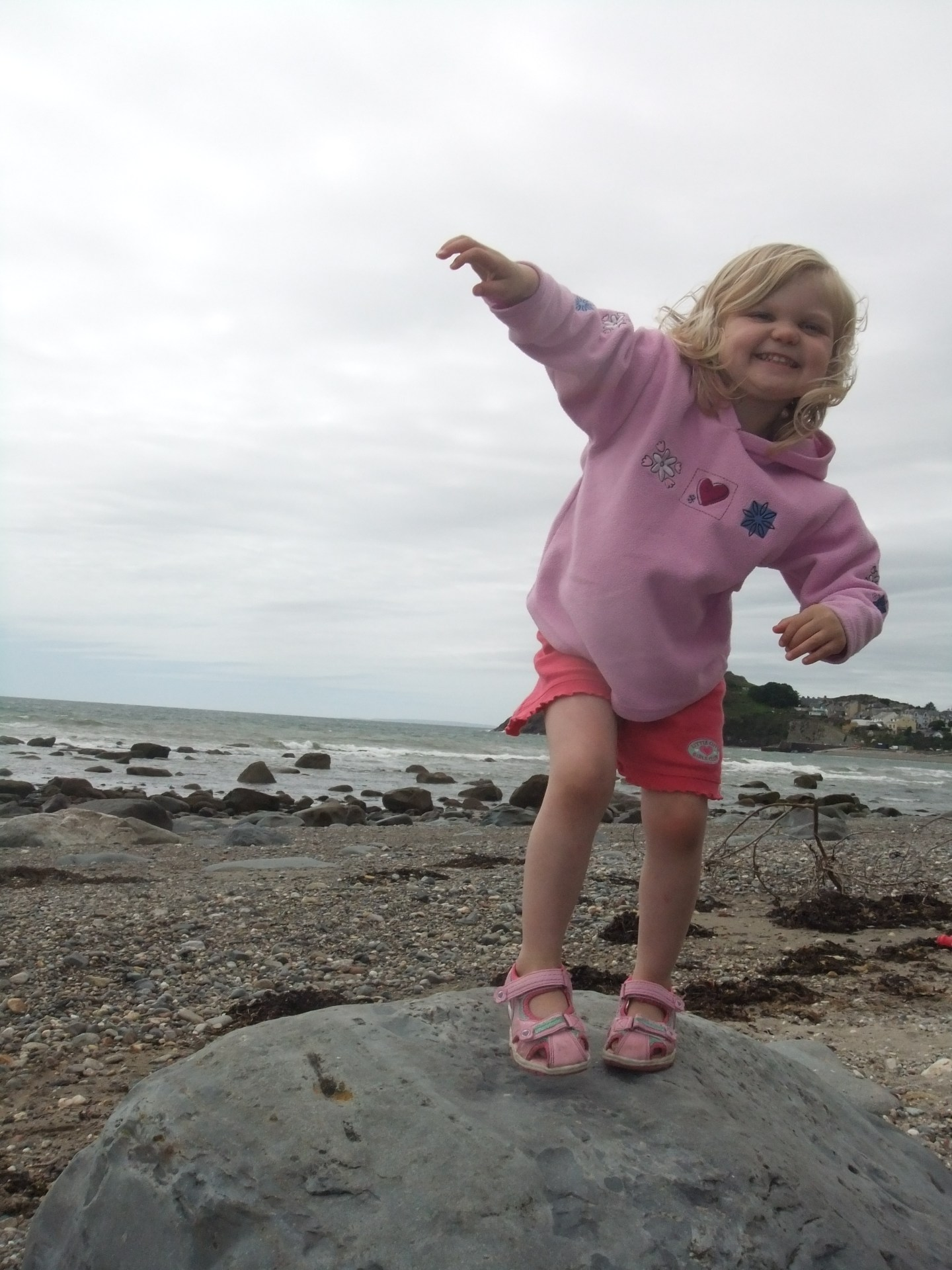 Rockpooling is fun, but so is dancing on giant rocks