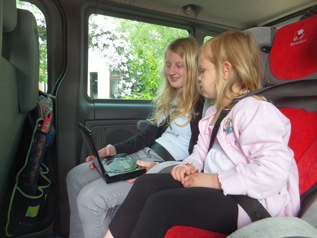 In car dvd players, perfect for long journeys