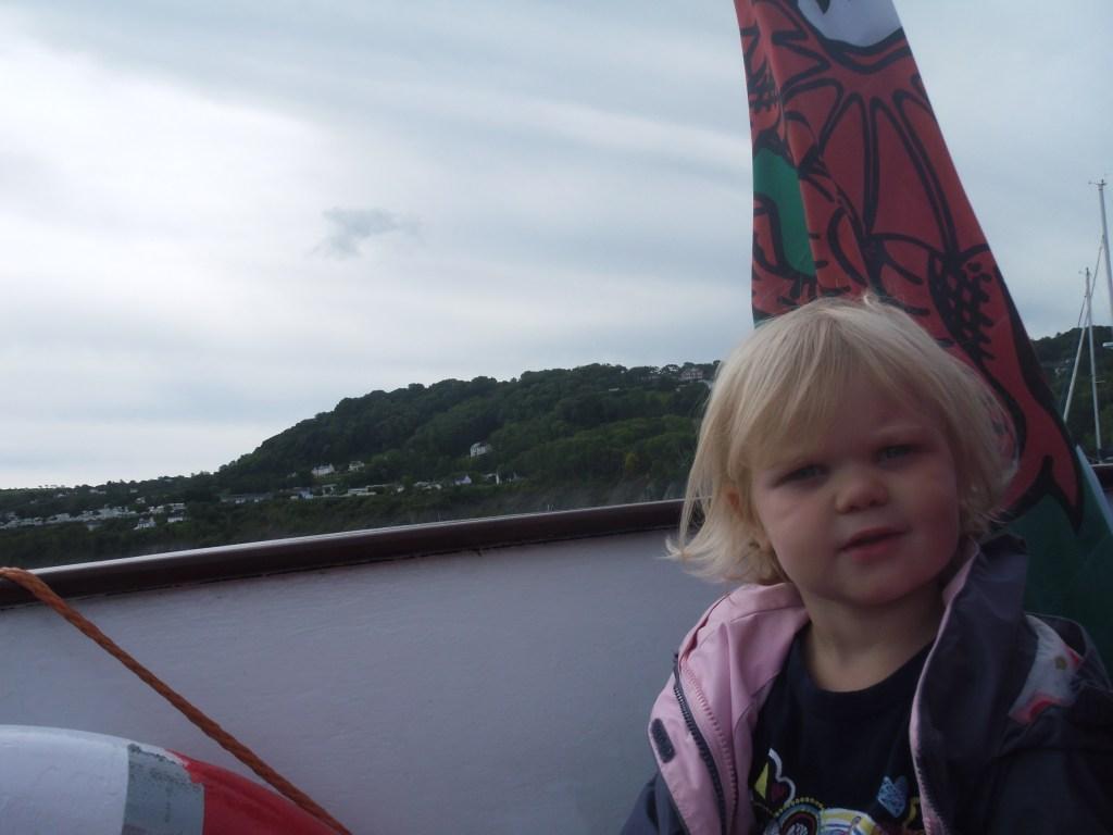 Eowyn dolphin spotting in Wales