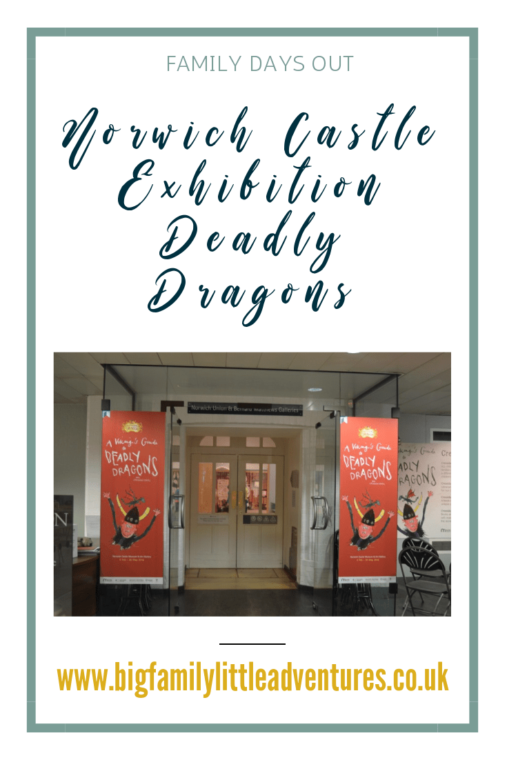 Norwich Castle have visiting exhibitions, click through to find out about Deadly Dragons and all things how to train a dragon.