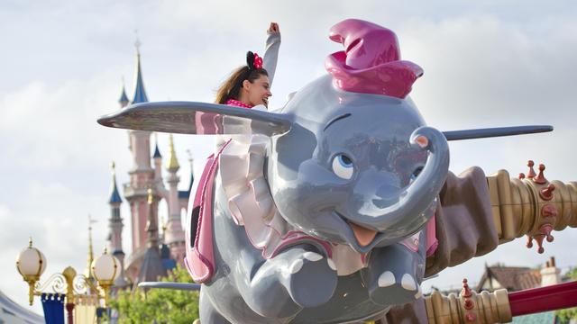 Under 5s at Disneyland Paris Dumbo Ride