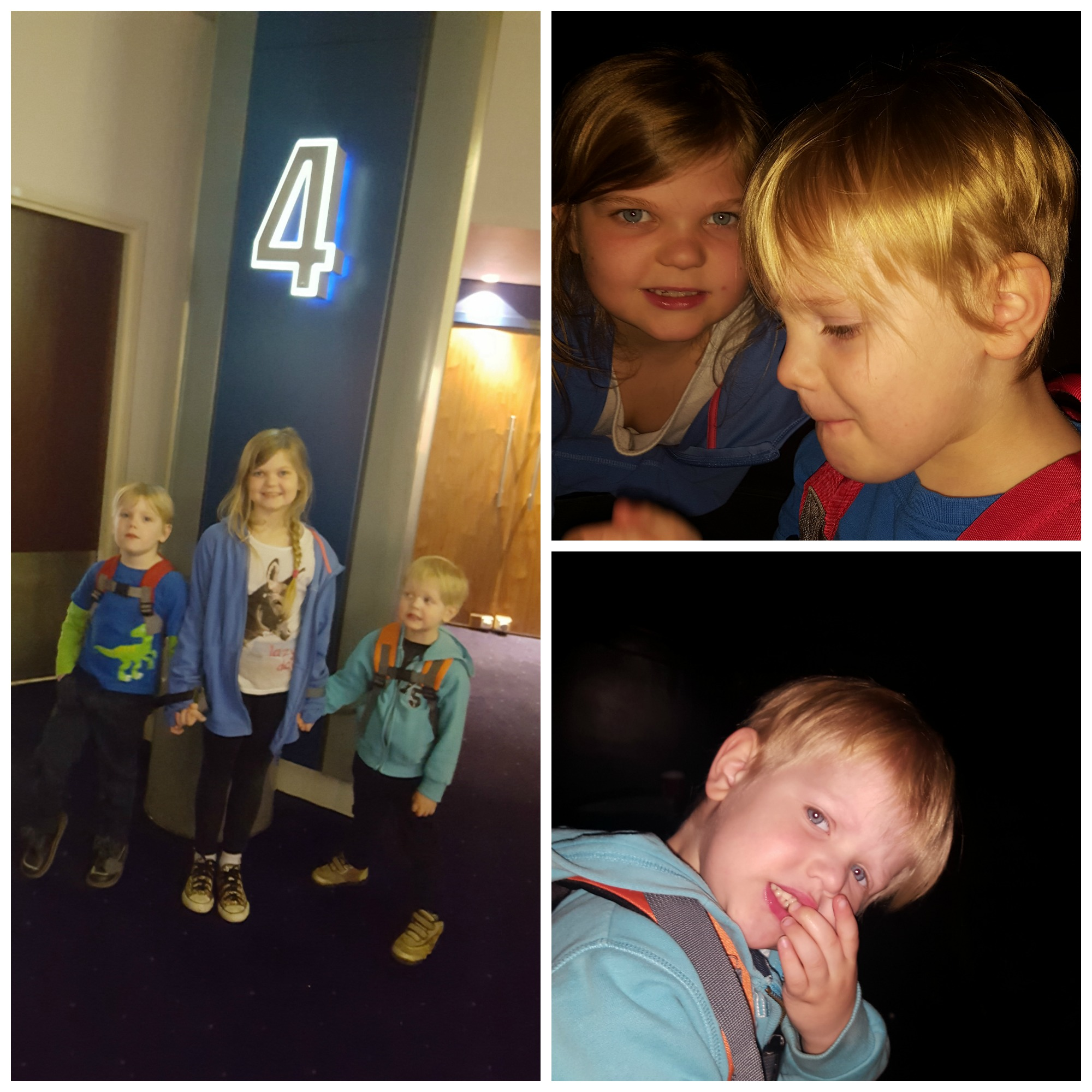 Eowyn, Tyrus and Viggo inside Odeon Norwich