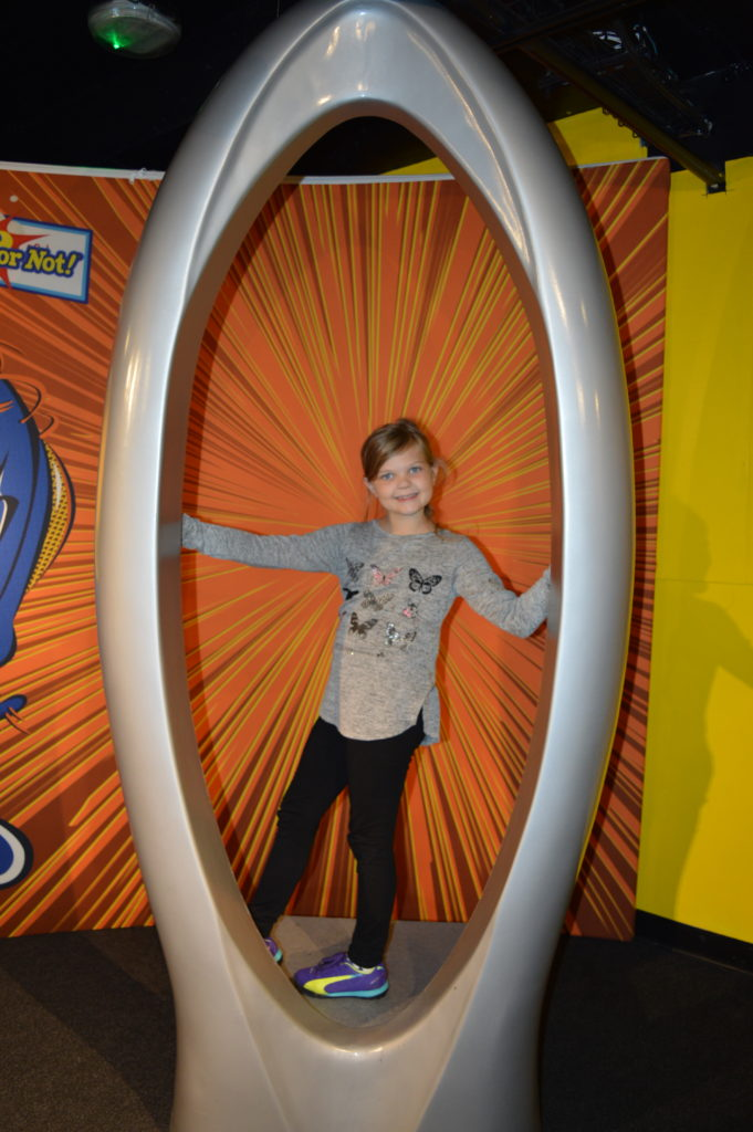 Eowyn in the eye of a needle at Ripley's Believe It or Not!
