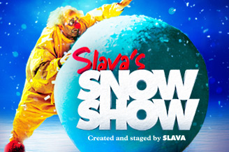 Slavas Snow Show at Norwich Theatre Royal Not to be missed!