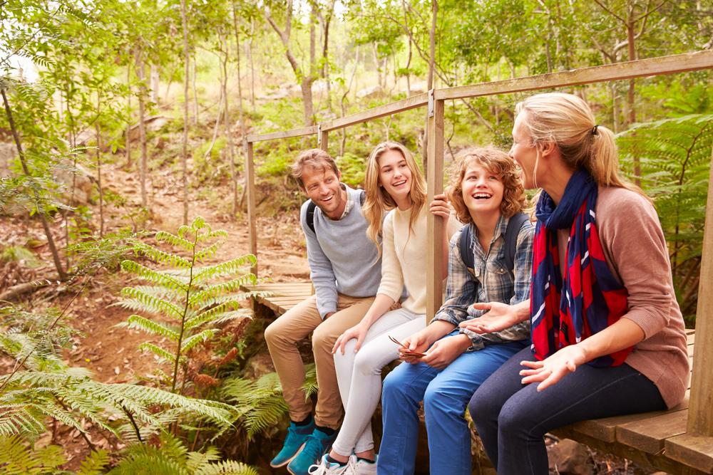 holiday with teenage kids