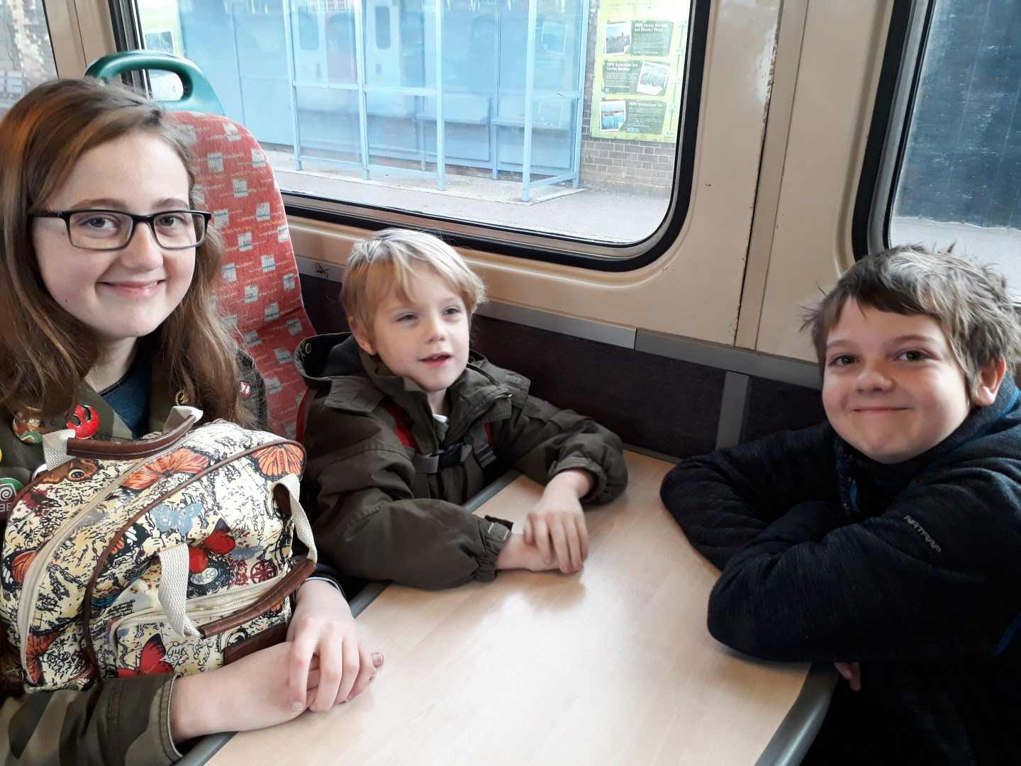trip to Norwich on Greater Anglia Train
