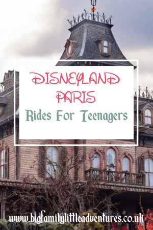 Visiting Disneyland Paris with teens, check out here to find the best rides to keep them entertained