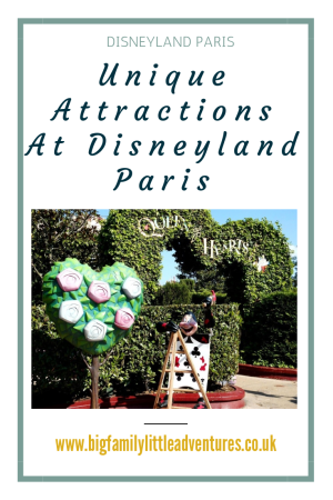 Have you visited Disneyland Paris yet ? Did you know that there are some Unique Attractions at Disneyland Paris, that cannot be found at other Disney Parks