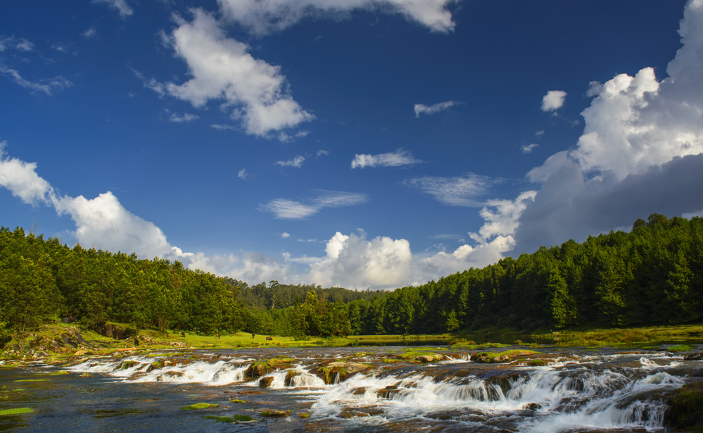 Waterfalls and Lakes in Southern India