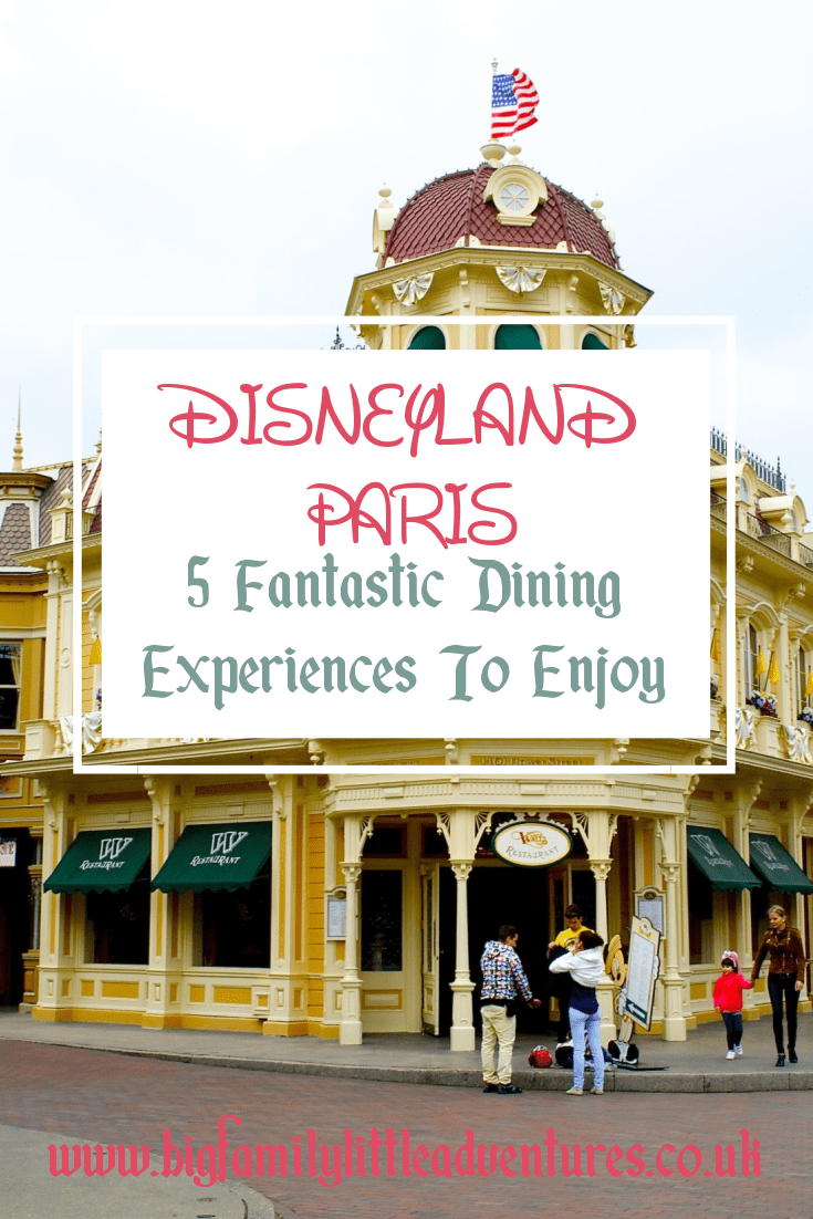 % fantastic Dining Experiences to enjoy at Disneyland Paris