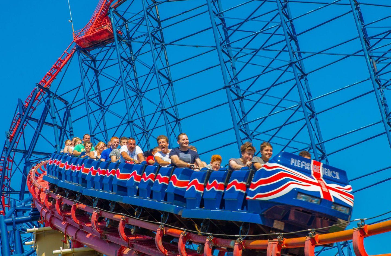 Blackpool Pleasure Beach Nearest Hotels To UK Theme Parks