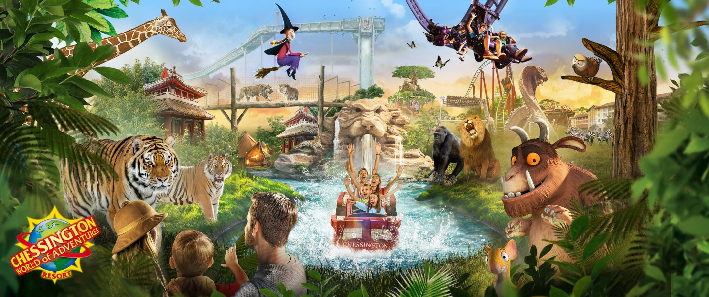 Chessington World of Adventures Nearest Hotels To UK Theme Parks