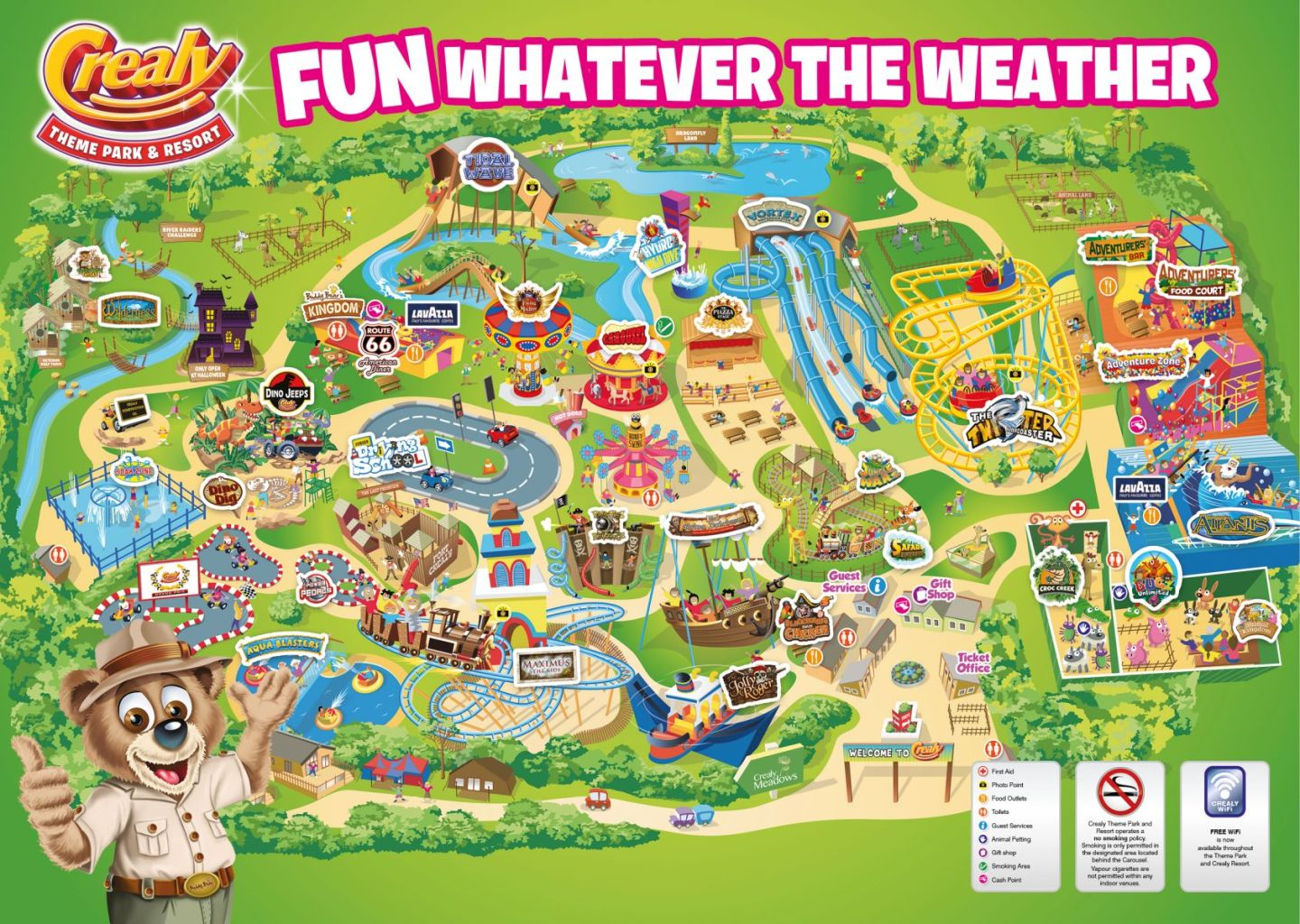 Crealy Theme Park Nearest Hotels To UK Theme Parks