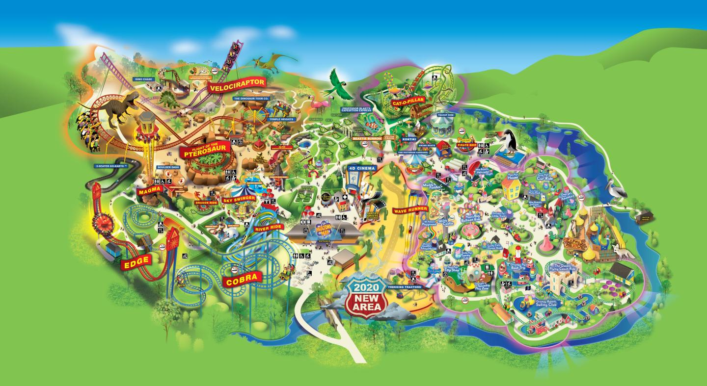 Paultons Park Nearest Hotels To UK Theme Parks