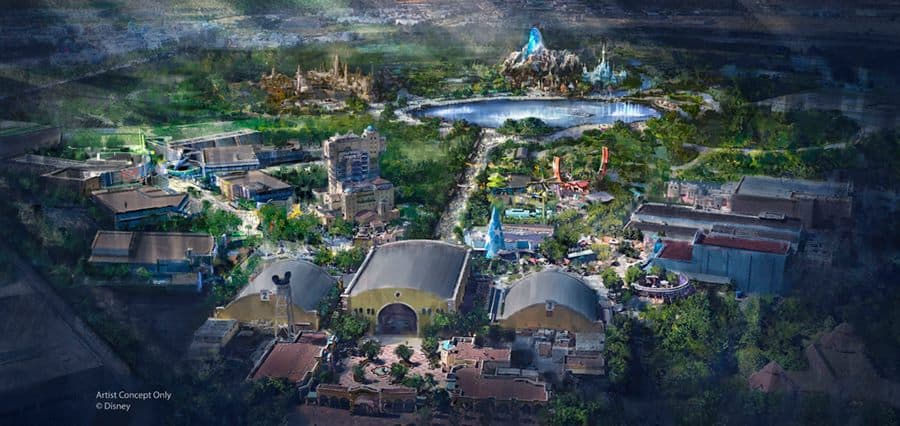 Disneyland Paris expansion includes a giant lake and a Frozen themed area
