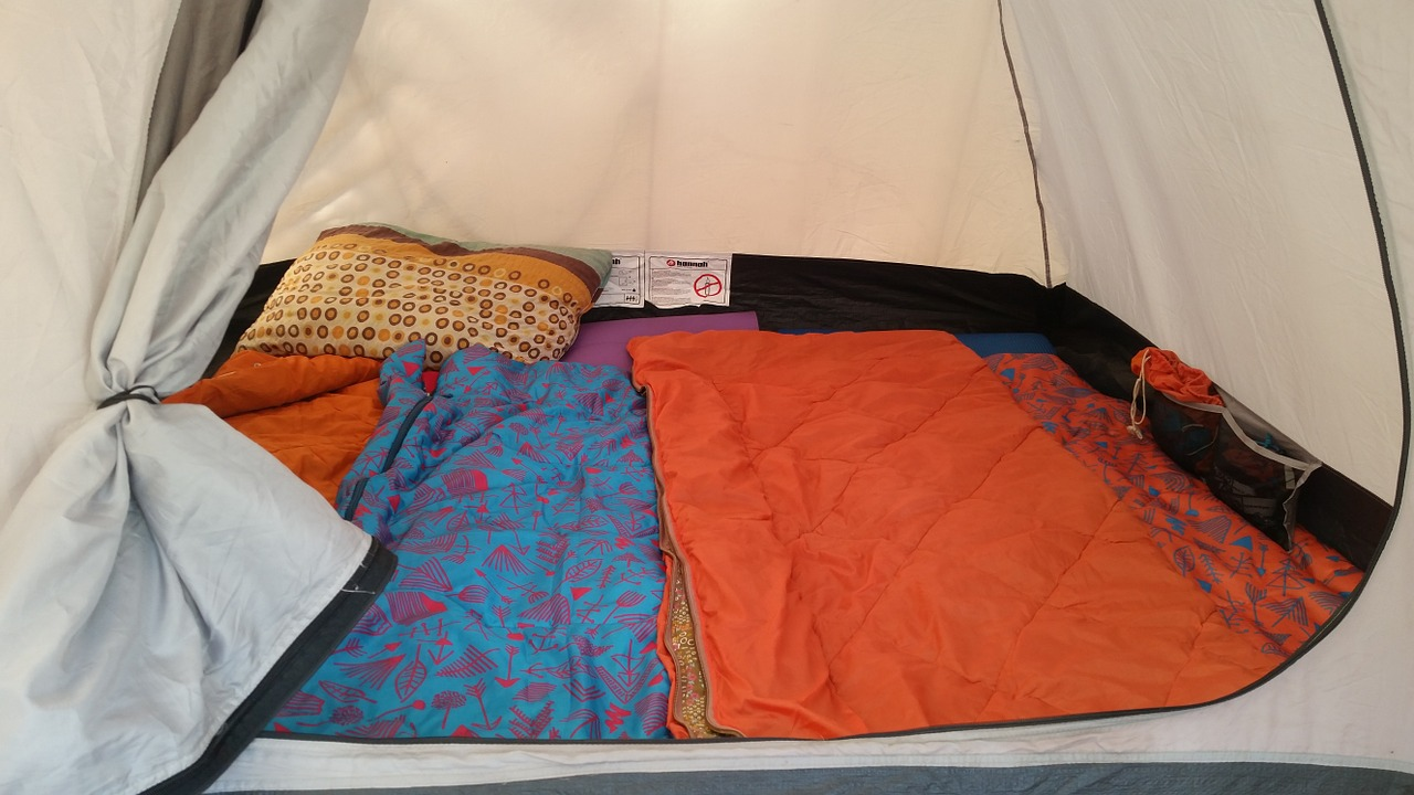 Sleeping Bags for family camping trip