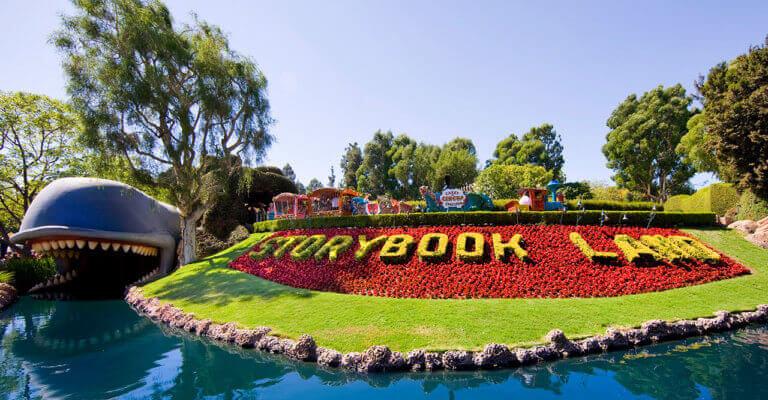 Top Disneyland Attractions storybook land