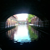 Sailing on the Canals of Birmingham