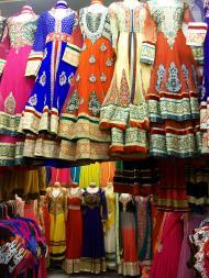 Saris in Little India