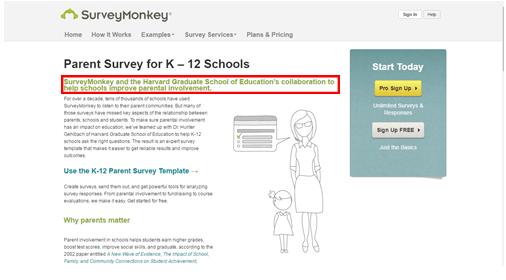 Harvard Survey