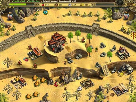 Building the Great Wall of China   iPad  iPhone  Android  Mac   PC     Game System Requirements