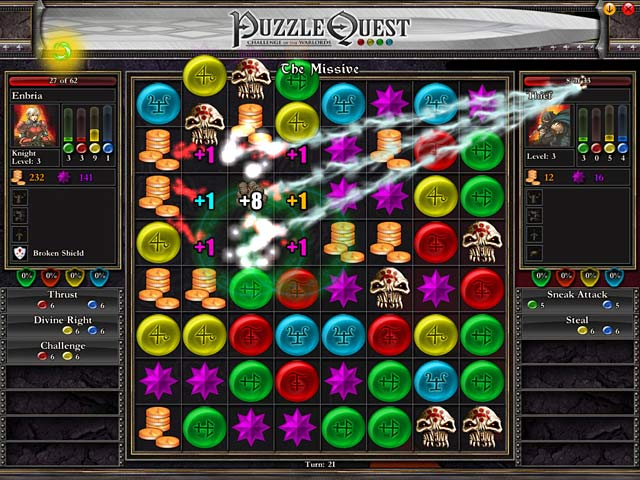 Puzzle Quest   iPad  iPhone  Android  Mac   PC Game   Big Fish Game System Requirements