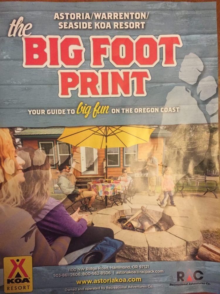 KOA Bigfoot Resort – Bigfoot Eruption