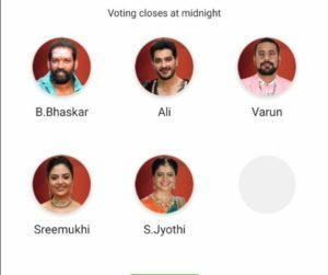 Bigg Boss Telugu 3 - WEEK 14 Nominations