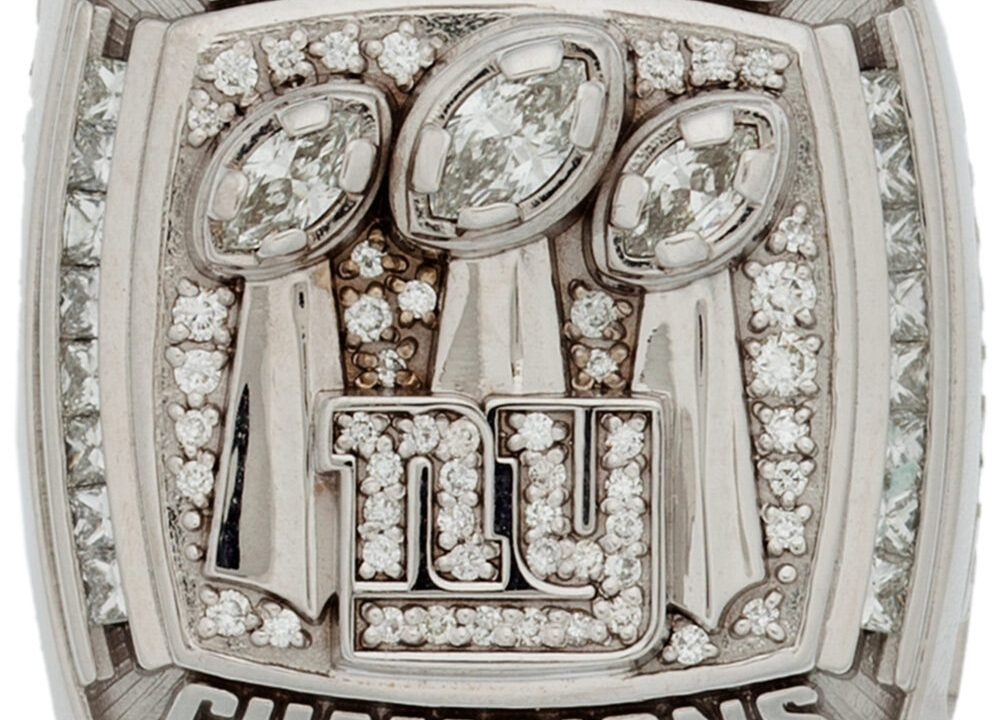 Super Bowl XLII Ring