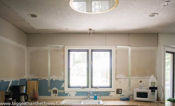 enlarging a window in an existing wall