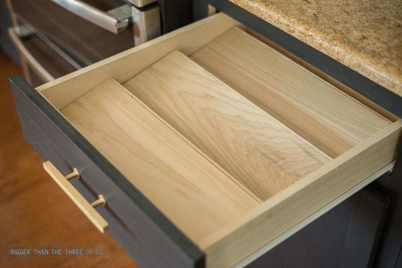 diy spice drawer organizer