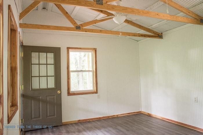 Installing Trim (Baseboards, Windows, Door, Walls And