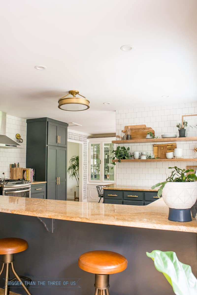 Kitchen Updates Including How We Use Love Open