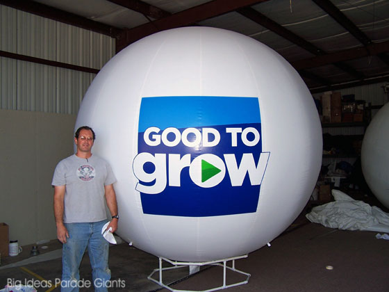 "10 Ft Helium Sphere ""Good To Grow"""