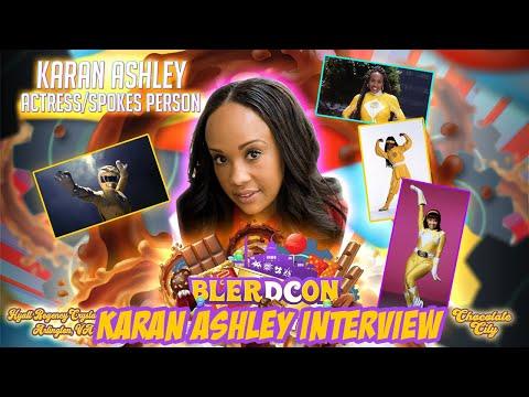 Karan Ashley – Interview (2021)   Blerdcon 2021