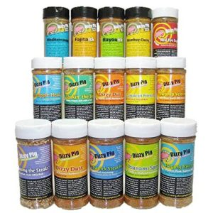 Dizzy-Pig-BBQ-Rubs-and-Spices-The-Works-Multi-pak-15-Bottles-0-e1485461832930