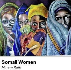 cropped somali women