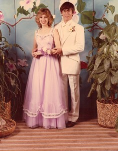 Big Skirts and Even Bigger Hair Prom 1982