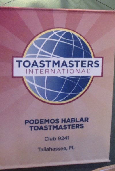 toastmasters banner