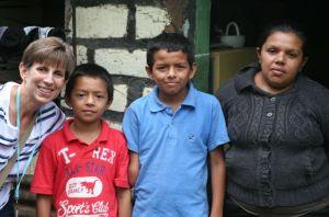 (Me), Javier, Josue (10), and Silvia (mom)