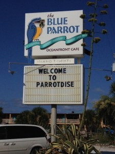 Parrotdise? Yeah, I'll run for that!