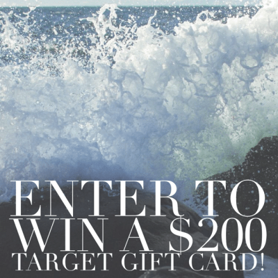 $200 Target Gift Card #Giveaway!