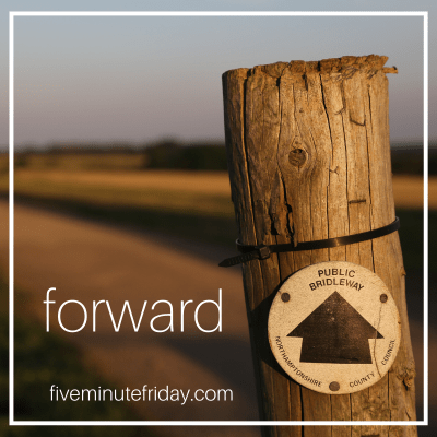 This is the time to be forward