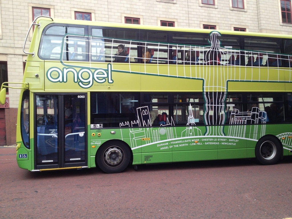 The Angel 21 bus