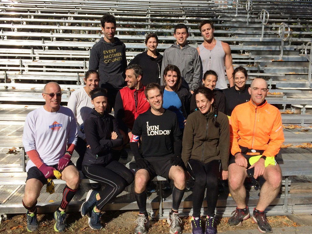 Central Park Training Run