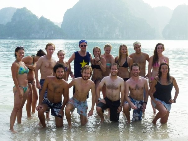 A gap year in your 30s. Meeting people is never a problem