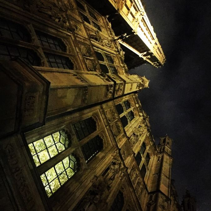 The imposing architecture at Black Rod's Garden Entrance